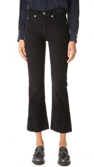 Вельветовые брюки Jane Eve Denim. Цвет: голубой