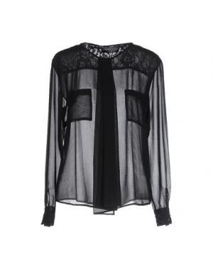 Pубашка MANUEL LUCIANO. Цвет: черный