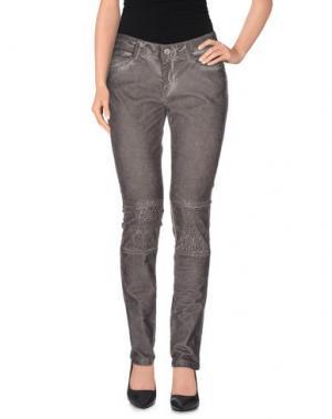 Повседневные брюки SWILDENS. Цвет: серый