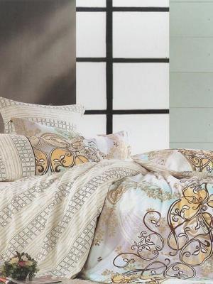 Комплект постельного белья, Шарль , Семейный KAZANOV.A.. Цвет: молочный
