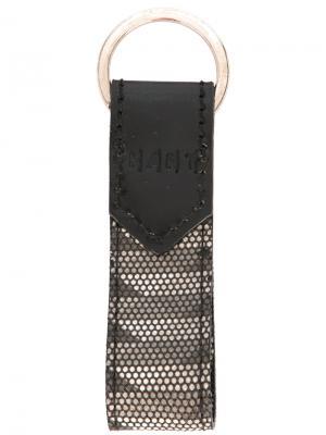 Брелок с принтом K/A/R/T. Цвет: серый