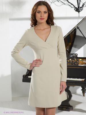 Платье Fairly. Цвет: молочный
