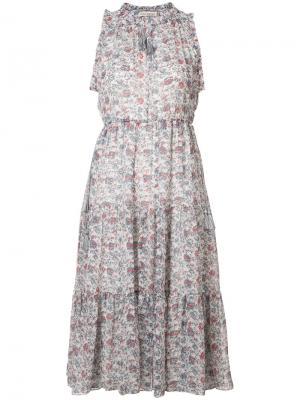Платье Maeve Ulla Johnson. Цвет: синий
