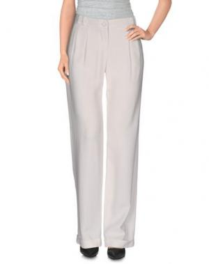 Повседневные брюки SHI 4. Цвет: слоновая кость