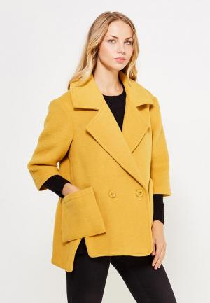 Полупальто SH. Цвет: желтый