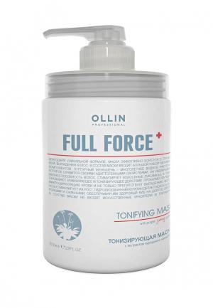 Маска для волос Ollin. Цвет: белый