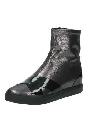 Ботинки MAKFLY. Цвет: черный, комби