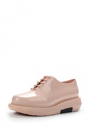 Резиновые ботинки Melissa. Цвет: розовый