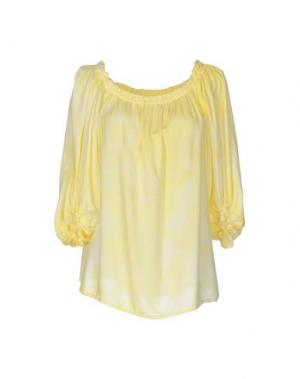 Блузка MONICA •LENDINEZ. Цвет: желтый