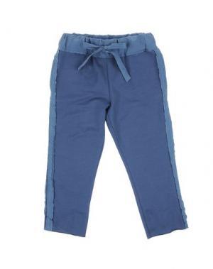 Повседневные брюки LE PETIT COCO. Цвет: грифельно-синий