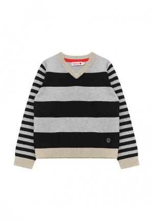 Пуловер Boboli. Цвет: серый