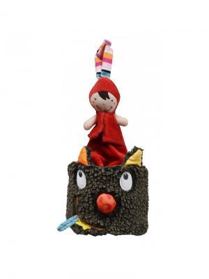 Ebulobo Музыкальная игрушка Волчонок в шляпе. Цвет: темно-серый