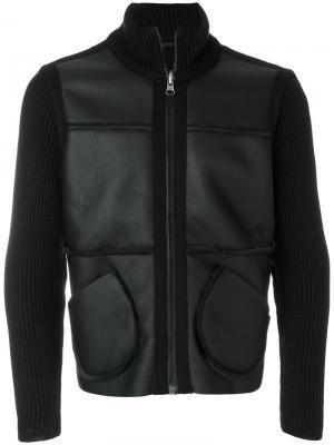 Куртка с панельным дизайном Daniele Alessandrini. Цвет: чёрный