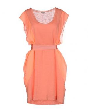 Короткое платье INTROPIA. Цвет: лососево-розовый