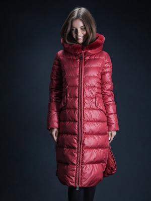 Куртка Clasna. Цвет: красный