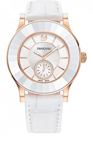Наручные часы Octea Classica White Swarovski. Цвет: белый
