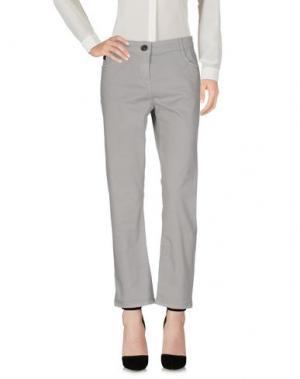 Повседневные брюки LIVIANA CONTI. Цвет: светло-серый