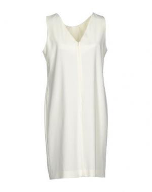 Короткое платье CALALUNA. Цвет: слоновая кость