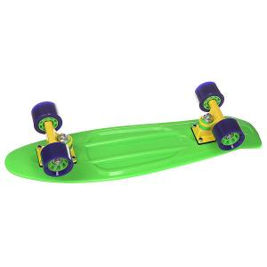 Скейт мини круизер  Orboard Green 6 x 22.5 (57.2 см) Taste. Цвет: зеленый