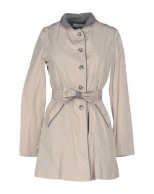 Легкое пальто DELLA CIANA. Цвет: бежевый