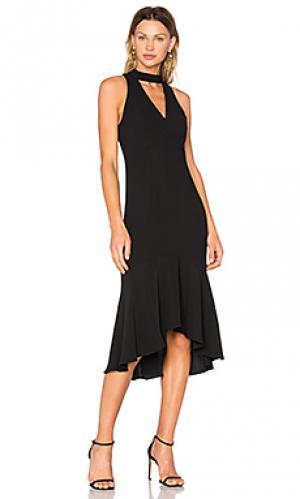 Платье valentina Amanda Uprichard. Цвет: черный