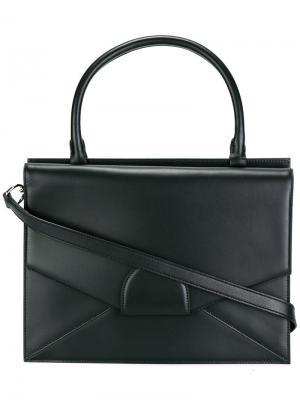 Маленькая сумка-тоут Dafne Bertoni 1949. Цвет: чёрный