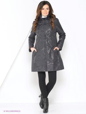 Куртка ANNE Maritta. Цвет: антрацитовый