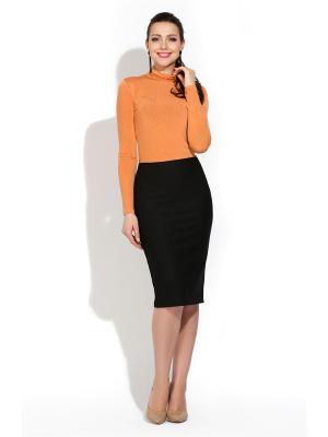 Водолазка Donna Saggia. Цвет: оранжевый