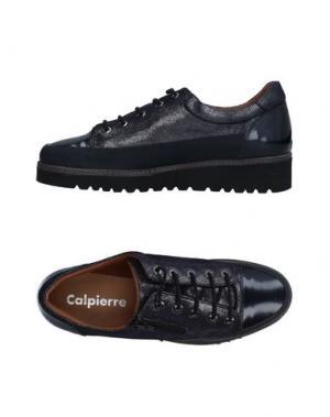 Низкие кеды и кроссовки CALPIERRE. Цвет: темно-синий