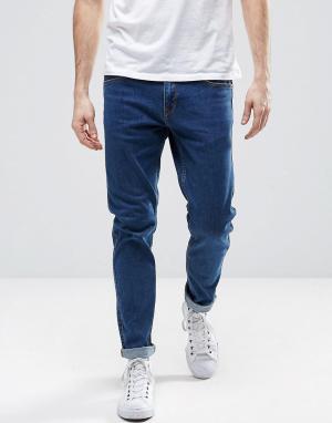 Dr Denim Узкие джинсы из органического хлопка Clark. Цвет: синий