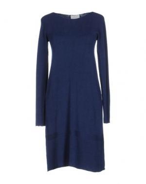 Короткое платье JEI O'. Цвет: синий