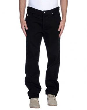 Повседневные брюки AVIO. Цвет: черный