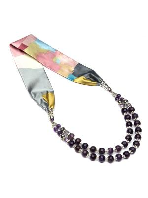 Ожерелье FOXTROT. Цвет: лиловый