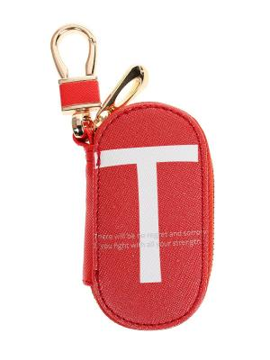 Ключница Bags Garden. Цвет: красный, белый