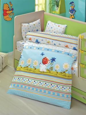 Комплект постельного белья ALTINBASAK. Цвет: желтый