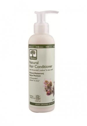 Кондиционер для волос натуральный BIOselect. Цвет: бежевый