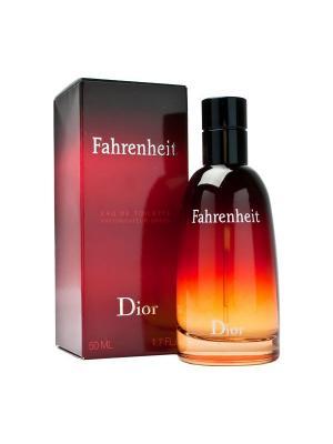 Fahrenheit Туалетная вода, 50 мл CHRISTIAN DIOR. Цвет: красный, черный