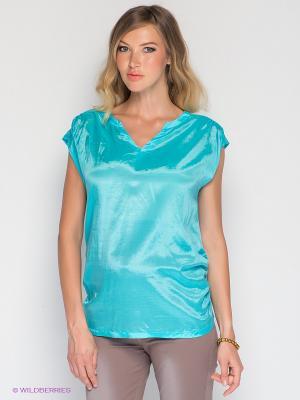 Блузка Mamita. Цвет: голубой