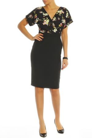 Платье PAPER DOLLS. Цвет: black, multi