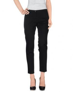 Повседневные брюки REBEL QUEEN. Цвет: черный