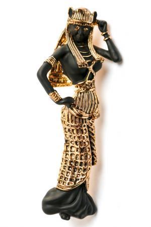 Брошь Isabel Rossi. Цвет: черный, золотой, бронзовый