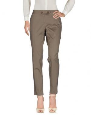 Повседневные брюки KENZO. Цвет: свинцово-серый