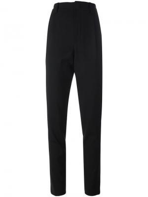 Классические брюки Anthony Vaccarello. Цвет: чёрный