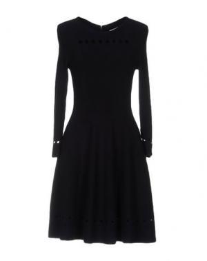 Короткое платье ISSA. Цвет: темно-синий