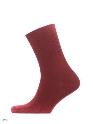 Носки, 3 пары Redestrella. Цвет: черный, бледно-розовый, красный