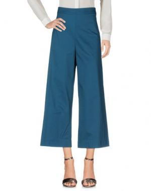 Повседневные брюки ANONYME DESIGNERS. Цвет: цвет морской волны