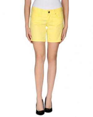 Повседневные шорты FLY GIRL. Цвет: желтый
