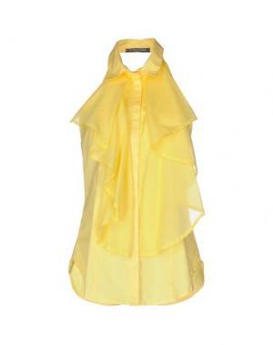 Pубашка LA CAMICIA BIANCA. Цвет: желтый