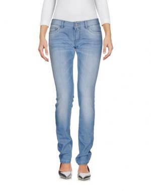 Джинсовые брюки MANILA GRACE. Цвет: синий
