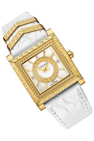 Часы наручные Versace. Цвет: золотой, белый